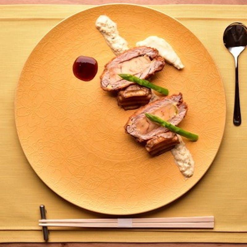【料理長おすすめ】フォアグラやトリュフチーズとんかつの食べ比べ4種、釜炊きご飯など全8品