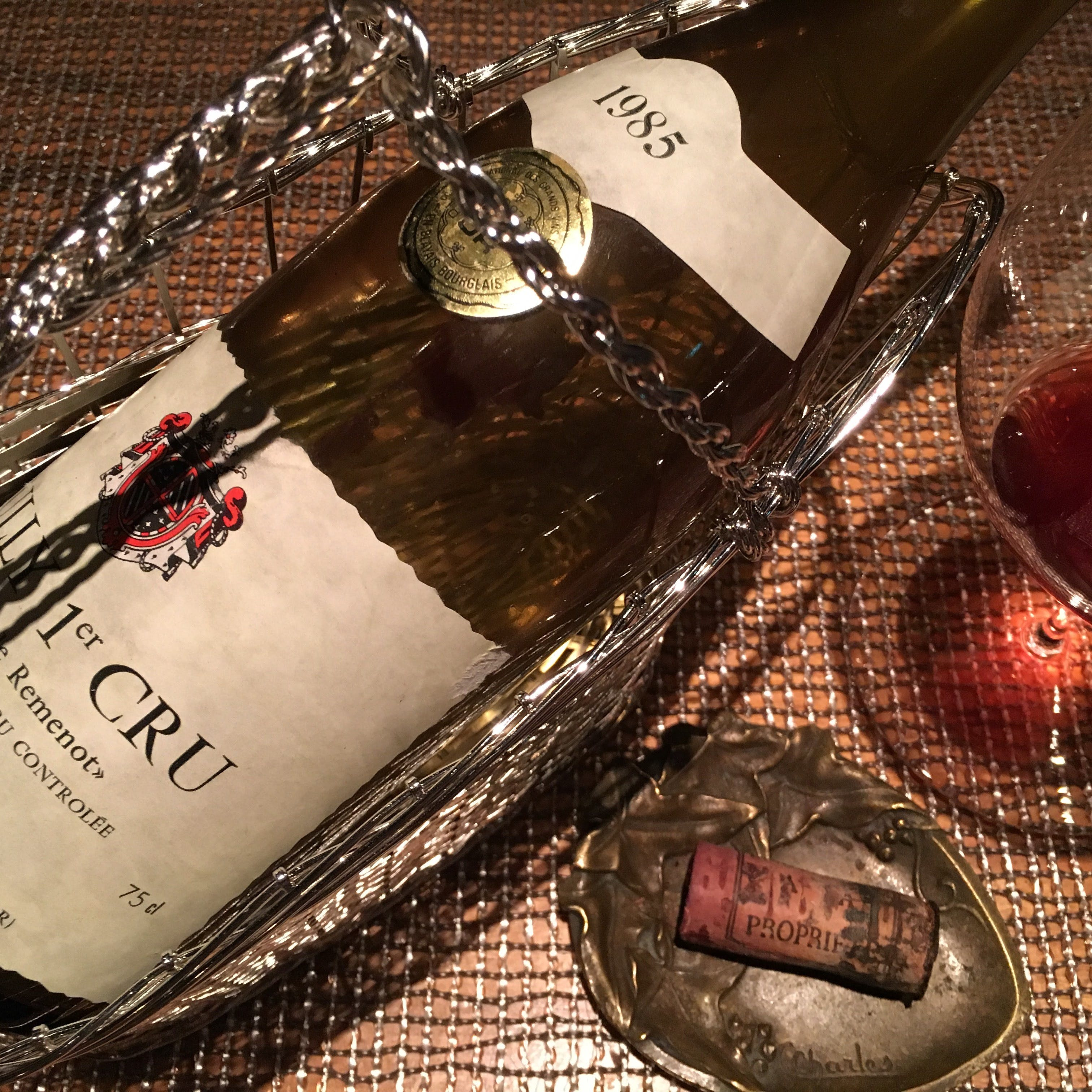 時間と共に香りと味が変化する古酒ワイン