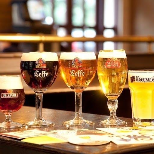 希少な樽生ベルギービール