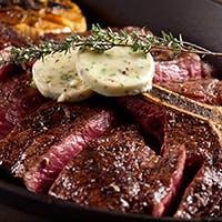 最高級ステーキとポップオーバーをお楽しみください