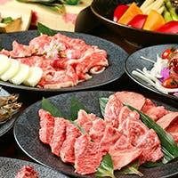 日本三大和牛を心ゆくまでご堪能