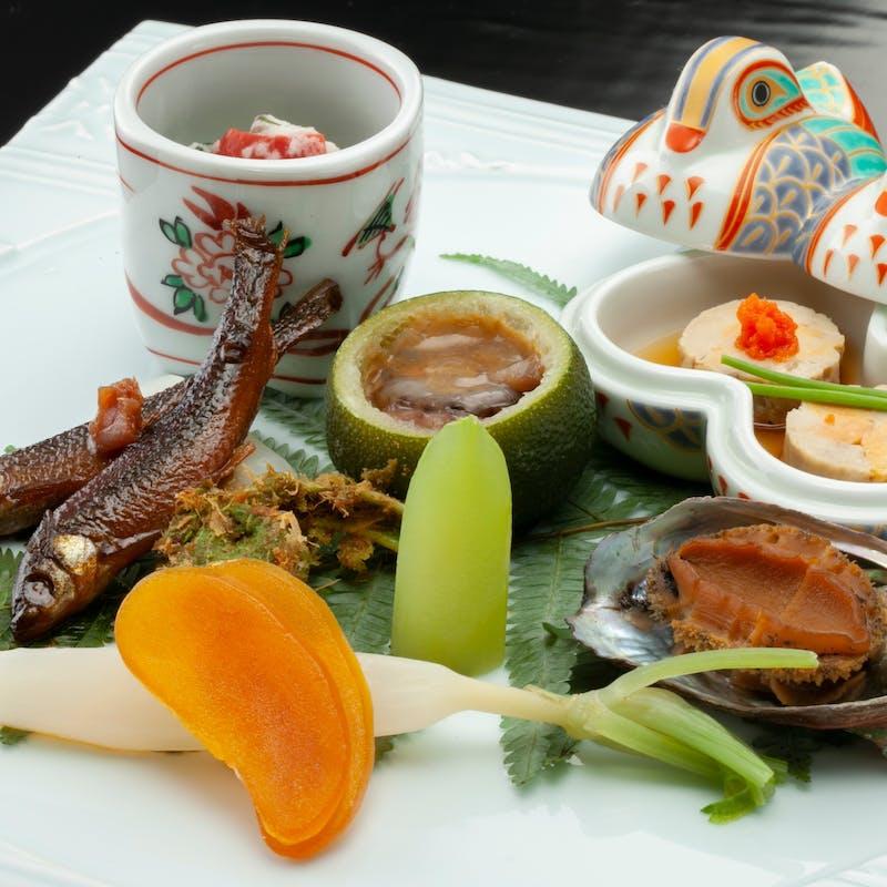 【懐石ディナー】(食材アップグレード)