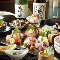 日本海から仕入れる新鮮な魚介