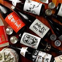 利酒師厳選の日本酒常時80種