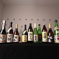 豊富に取りそろえた日本酒