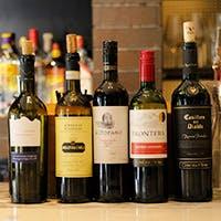 選りすぐりのワイン、メニューに無い銘柄も