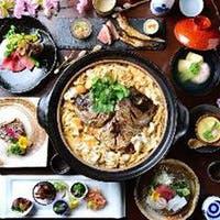 四季を感じる料理の数々と名物鯛飯