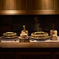 旬の食材を存分に使用した懐石料理