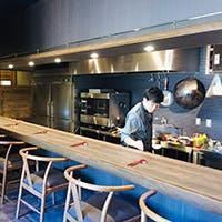 カウンター割烹中華のレストラン