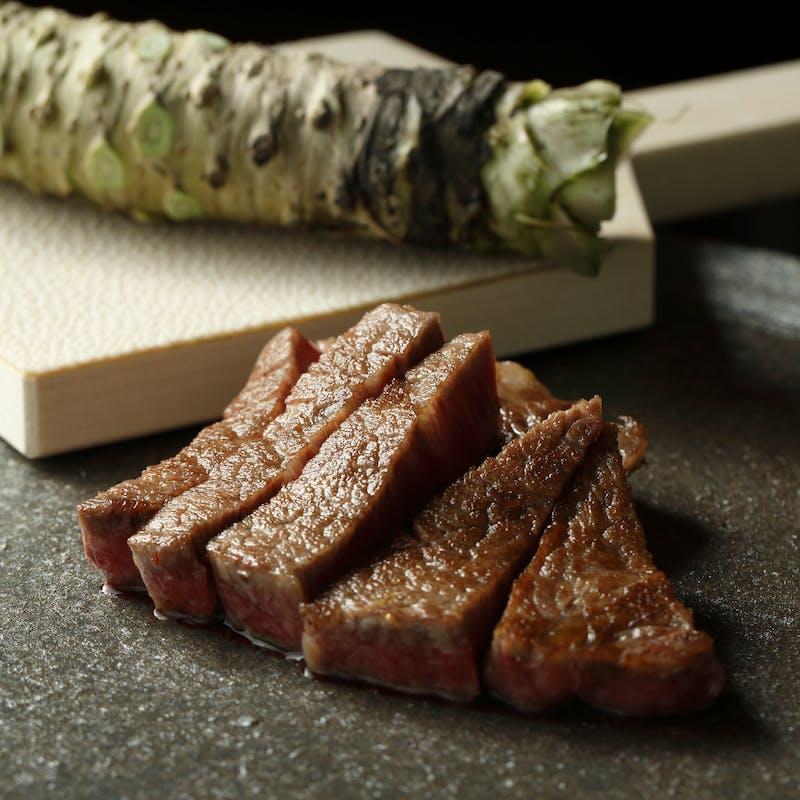 【御空】 前菜2種、国産牛フィレ、デザートなど全7品(10%割引)