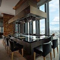 コンラッド大阪の最上階、40階に位置する和食レストラン