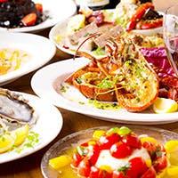 豊富なイタリア海鮮料理と本場仕入れのプロシュットをお試しください