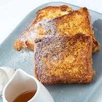 焼きたてフレンチトーストのNYスタイルブランチ