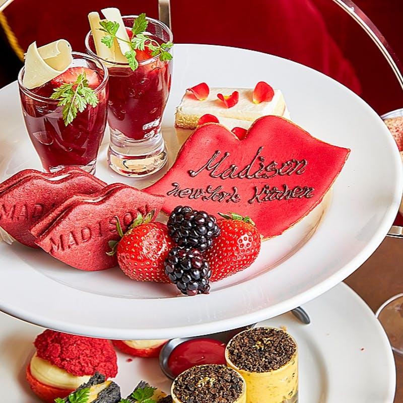 【Sweets&Make up】茶葉変更OK&紅茶お代わり自由!アフタヌーンティー+Birthdayリップクッキー(週末)