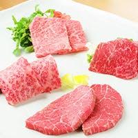 素材引き立つ網焼きで特選黒毛和牛を食す