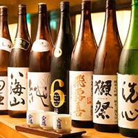 全国銘酒約40種取りそろえる日本酒