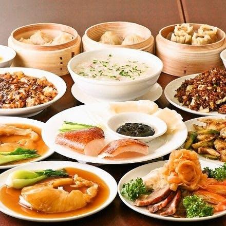 食べ放題やコース料理も充実!
