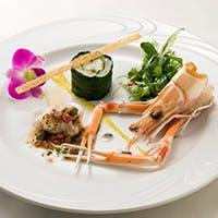旬素材を使用し吟味された絶品フランス料理