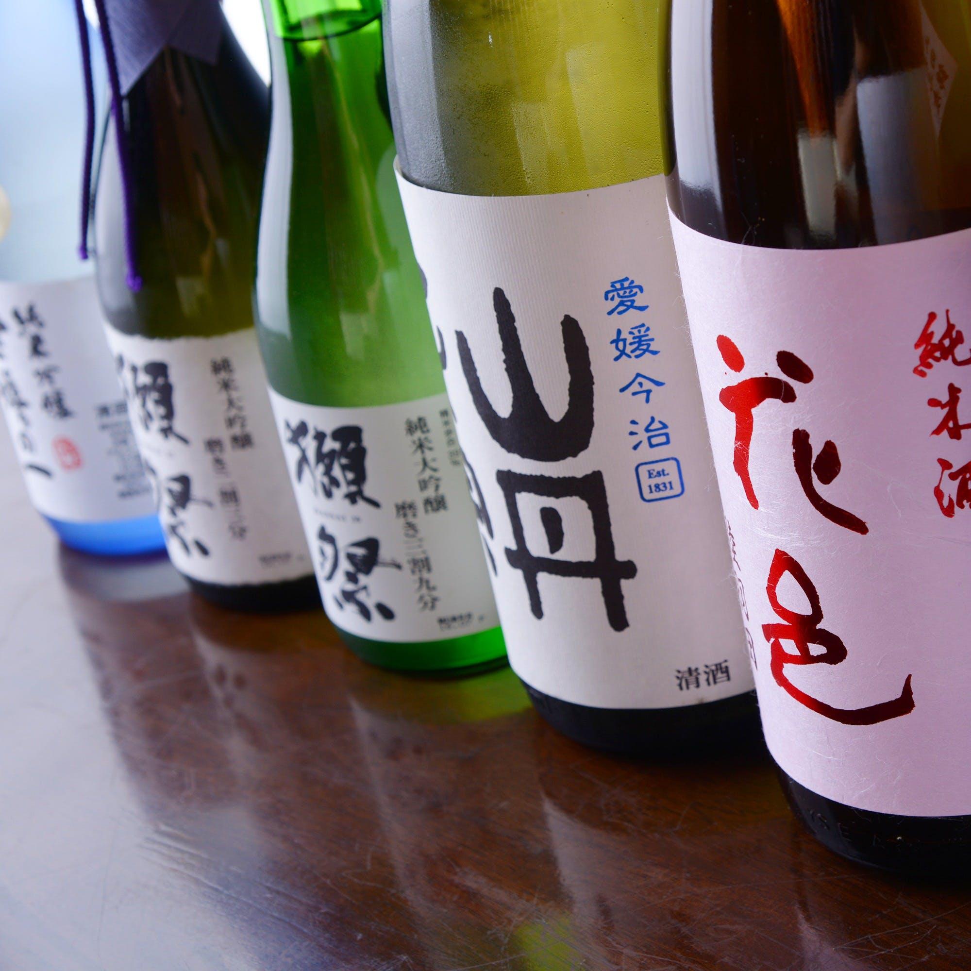 こだわり日本酒