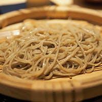 蕎ノ字流に〆に供する蕎麦