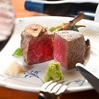 カウンターで最高のお肉を愉しむ