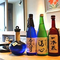 多数のプレミアムな日本酒