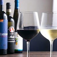 豊富に取りそろえるイタリアワイン