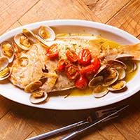 風味豊かな魚介料理をご堪能