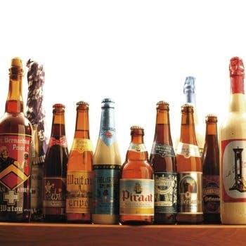 自社輸入による最高級のベルギービール