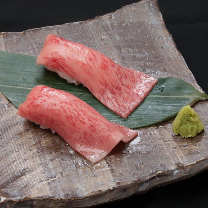 【にくTATSUコース】サーロイン炙り寿司や極上ロース等全10品