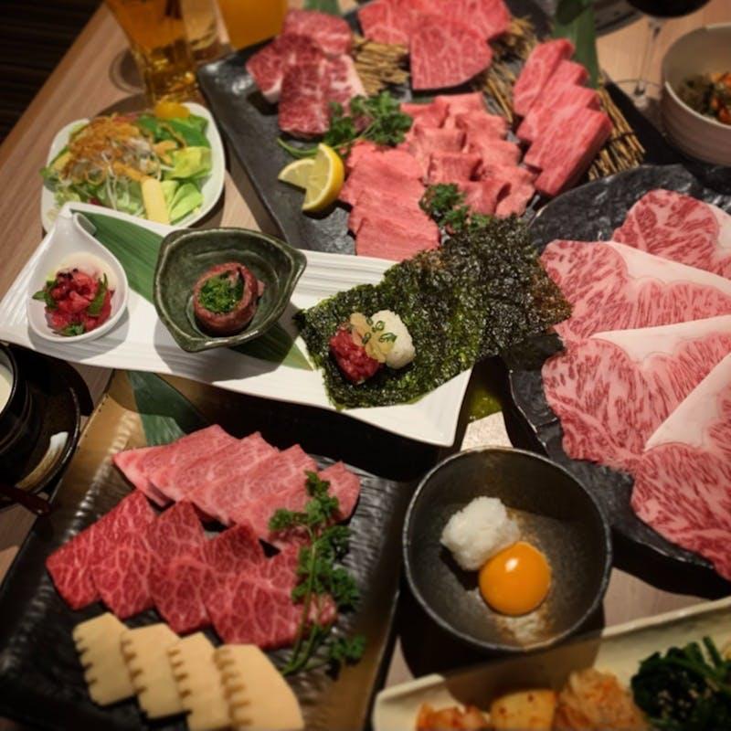 【季節のコース】極上ステーキや厚切りのお肉など全15品+期間限定