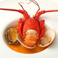新鮮な魚介と野菜を愉しむフランス料理