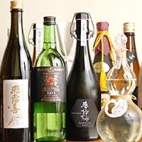 全国各地の日本酒、世界のワインとのマリアージュ