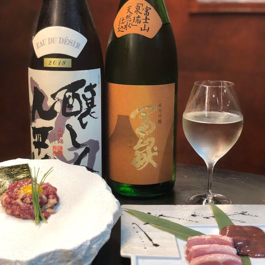 よく合うワインと日本酒