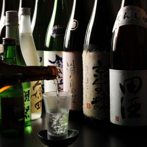各地の個性豊かな美酒が20種類以上