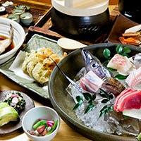 和歌山で獲れた魚介類を中心に、獲れたての鮮度の良い食材を使用