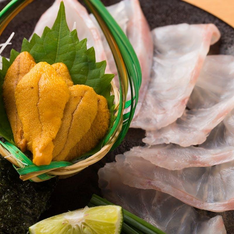 【おまかせコースB】旬食材で作る逸品料理(土日祝)