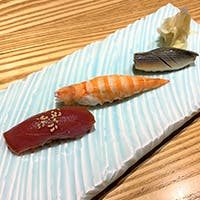 こだわりの食材でつくる江戸前鮨