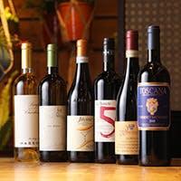 作り手の情熱が伝わるワインをセレクト