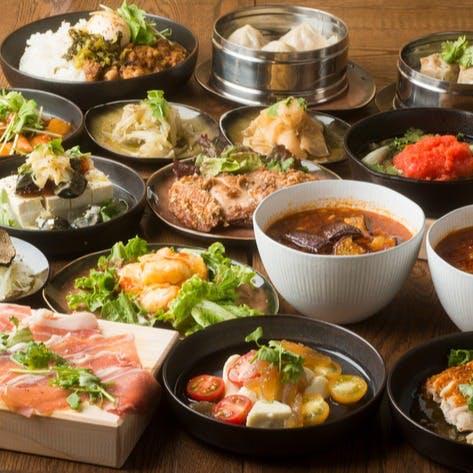 多彩な創作中華料理