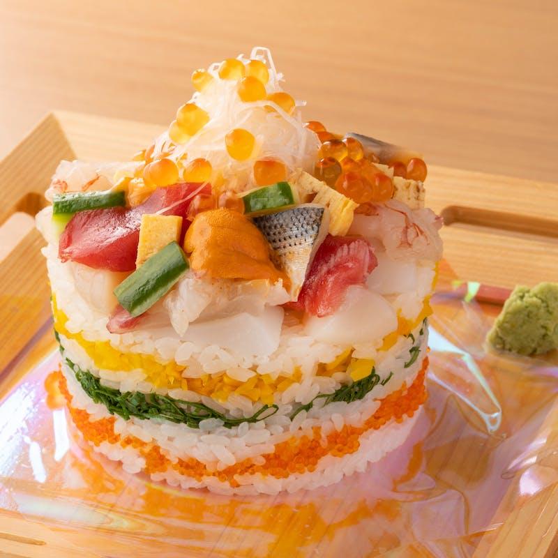 寿司ケーキ ランチアラカルト