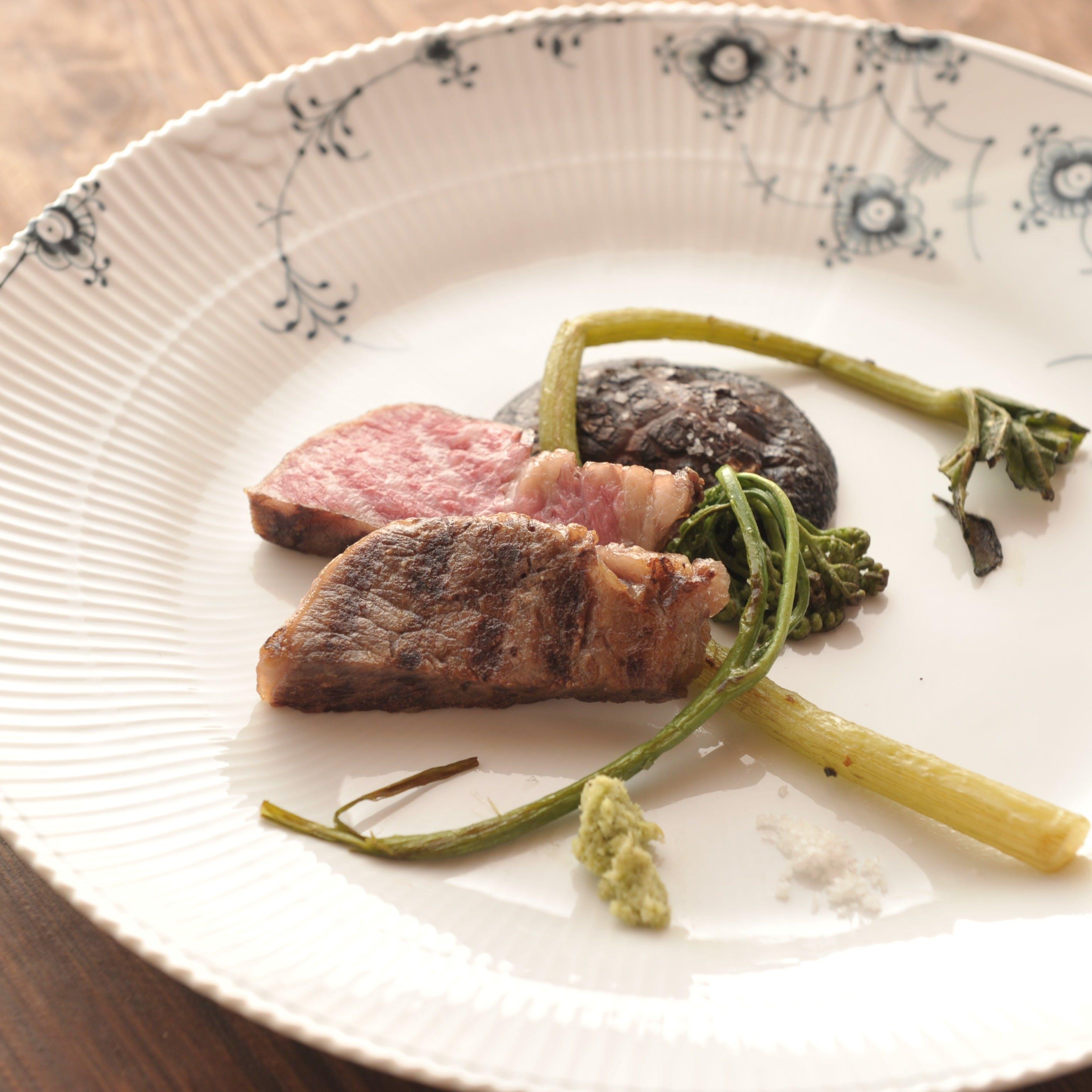 春夏秋冬、季節を感じる伊豆の豊富な食材から、軽やかで香り高い洗練イタリア料理
