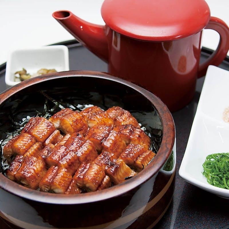 【ご馳走コース】(国産鰻会食膳~ひつまぶし~)