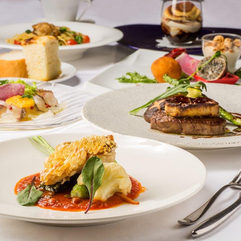【Degustazione】前菜、パスタ、選べるメインなど全6品(半個室確約)