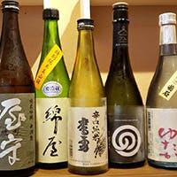 料理に合わせて日本酒も堪能