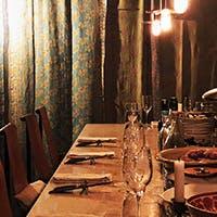 ひっそりと佇む隠れ家的レストラン