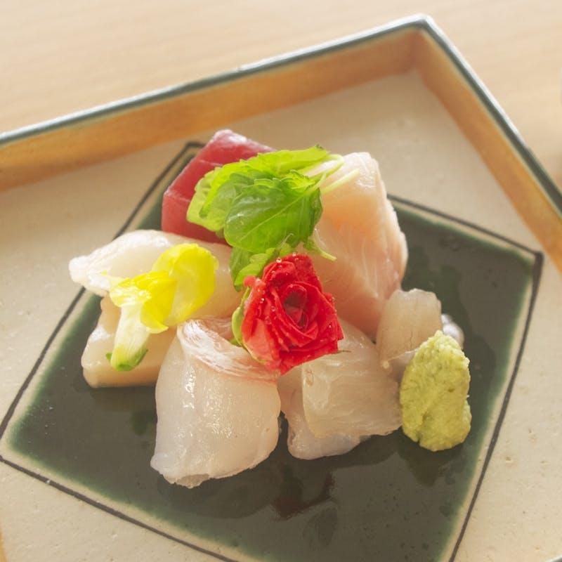 <料理長厳選コース>錦の名水と旬の食材を堪能する全8品
