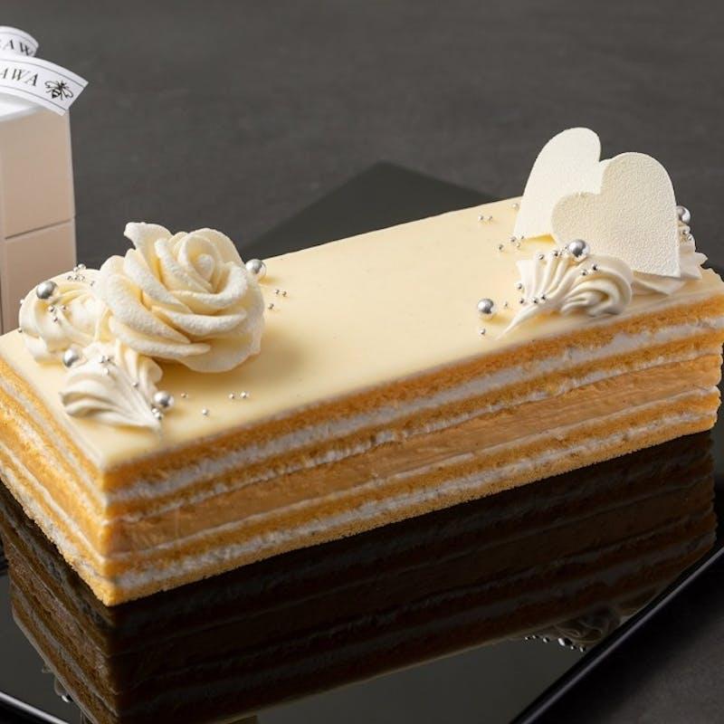 【ホワイトデー限定】 特製バニラクリームの生ケーキ(期間限定)