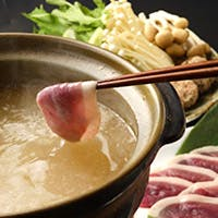 伝統の美味しさ「京鴨肉しゃぶしゃぶ」