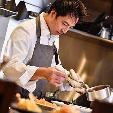 鎌倉の食材を取り入れたコース料理